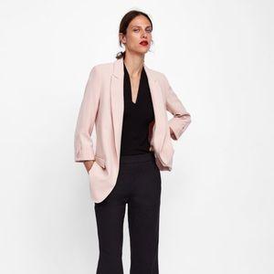 Zara blazer with buttoned sleeve